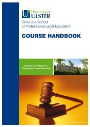 Graduate School of Professional Legal Education - Faculty of Social ...