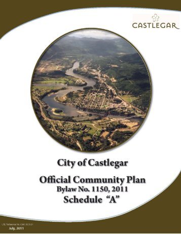 Official Community Plan - The City of Castlegar