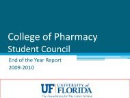 2009-2010 Gainesville End of Year Student Report - College of ...