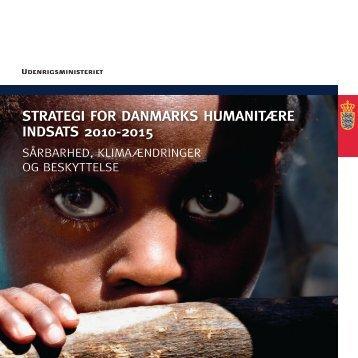 Strategi for DanmarkS humanitære inDSatS 2010-2015
