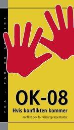 OK-08 Hvis konflikten kommer - FOA