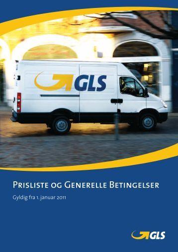 Prisliste og Generelle Betingelser - A/S ScanNet