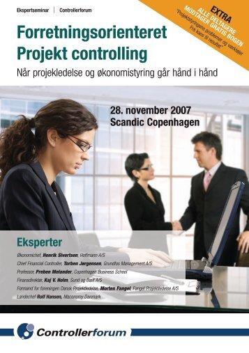 Forretningsorienteret Projekt controlling