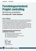 Forretningsorienteret Projekt controlling - Page 3