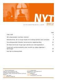 Nyt fra Ankestyrelsen nr. 1 januar 2012