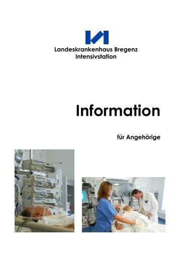 Information - Landeskrankenhaus Bregenz