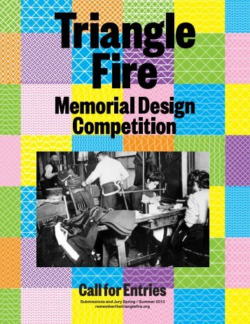 Call for Entries - Remember the Triangle Fire Coalition