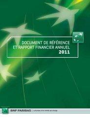 document de référence et rapport financier annuel - BNP Paribas