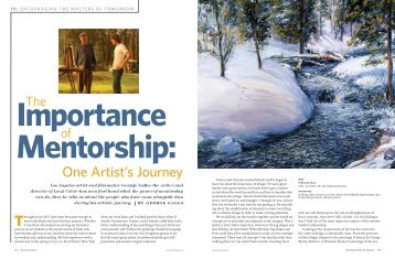 George Gallo Featured in American Artist Magazine Fall 2006 Issue