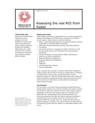 Assessing the real ROI from Siebel