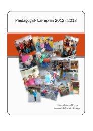 Læreplan 2012 2013