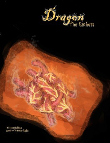 Dragon: The Embers Core Book - MrGone's Character Sheets