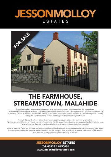 THE FARMHOUSE, STREAMSTOWN, MALAHIDE - MyHome.ie