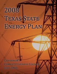 Texas State Energy Plan - Office of the Governor - Rick Perry