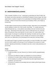 Tema G3: Konflikter (pdf) - Fjerne Naboer