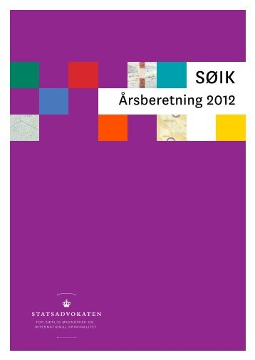 Årsberetning 2012 - Rigsadvokaten
