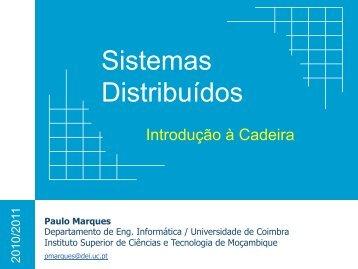 Introdução - Universidade de Coimbra