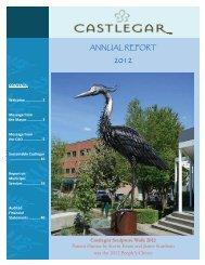 2012 Annual Report - The City of Castlegar