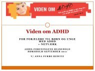Viden om ADHD - ADHD: Foreningen