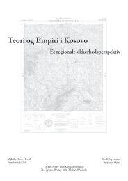 Teori og Empiri i Kosovo - tylkum.dk