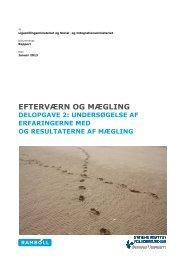 Rapporten om mægling - Social