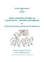 Bedre udnyttelse af tiden og ressourcerne - attraktiv planlægning.pdf