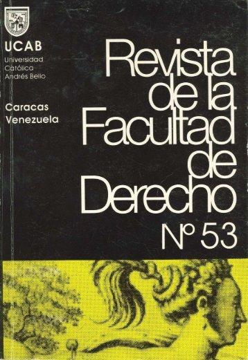 ver N°53 en pdf - Universidad Católica Andrés Bello