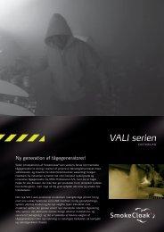 VALI-serien datablad - BUANCO