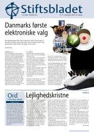 Lejlighedskristne Danmarks første elektroniske valg - Kundby Sogn