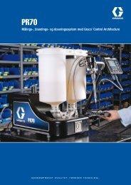 338863D , PR70 Målings-, blandings- og doseringssystem - Graco Inc.
