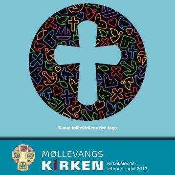 Kirkekalender februar - april 2013 - Møllevangskirken