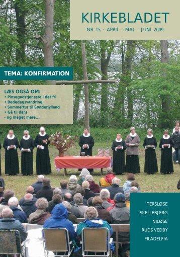 10.03.2009 Nyt nummer af kirkebladet - Ruds Vedby Kirke