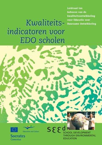 Kwaliteits- indicatoren voor EDO scholen Kwaliteits ... - SEED