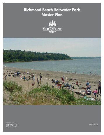 Richmond Beach Saltwater Park Master Plan