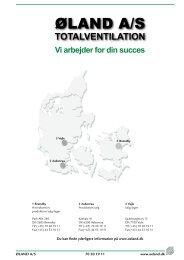 ØLAND A/S - Øland Online
