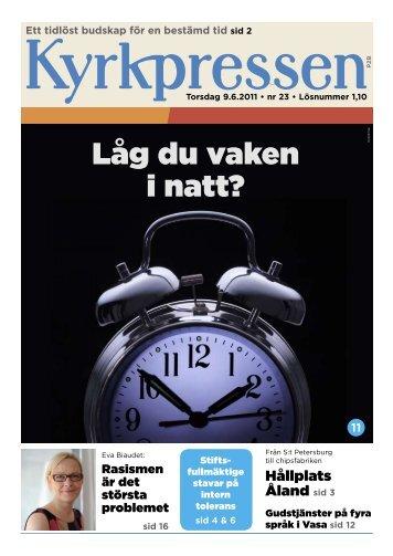 Kyrkpressen 23/2011 (PDF: 2.4MB)