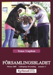 Nr 3 2009 - Lidköpings Församling