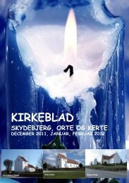 Kirkeblad 4.indd - Skydebjerg Kirke