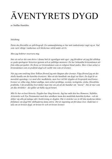 Äventyrets dygd - katolsk självbiografi (PDF)