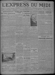 22 janvier 1929 - Bibliothèque de Toulouse