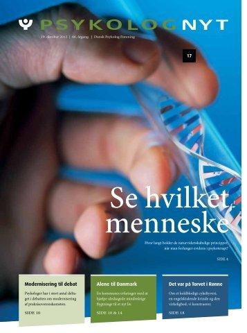 Modernisering til debat Alene til Danmark Det var på Torvet i ... - Elbo