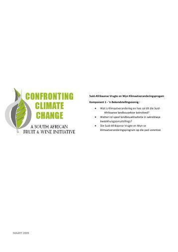 Suid-Afrikaanse Vrugte en Wyn Klimaatveranderingsprogam ...