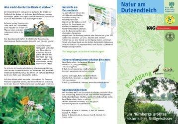 Flyer Natur am Dutzendteich