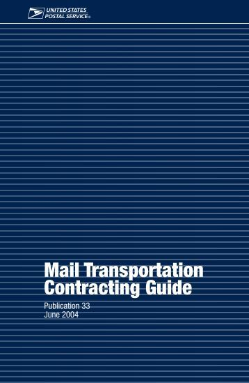 Pub 33 Mail Transportation CONTRACTING Guide.pdf - Local 300 ...