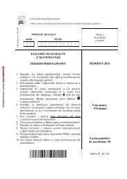 sierpień 2011 - Zadania.info