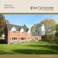 Hideaway, Saham Toney - Fine & Country