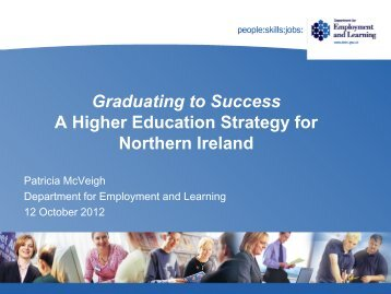 Graduating to Success Strategy - University of Ulster