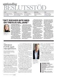 7/2008: Beslutsstöd - CIO Sweden - IDG.se