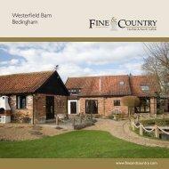 Westerfield Barn Bedingham - Fine & Country