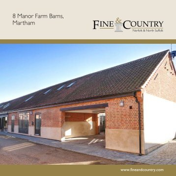 8 Manor Farm Barns, Martham - Fine & Country